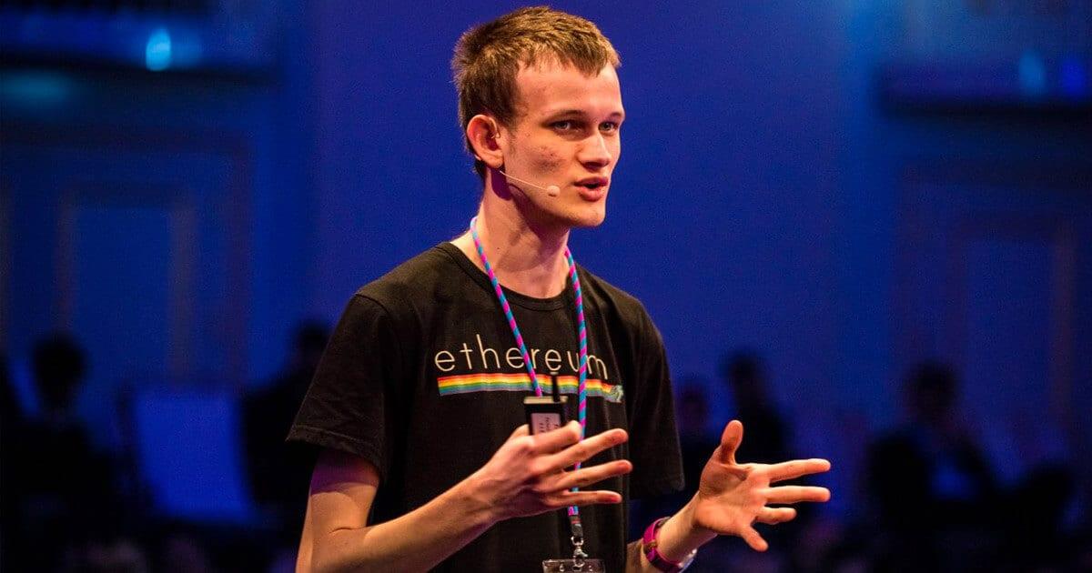 Ethereum Oprichter Vitalik Buterin
