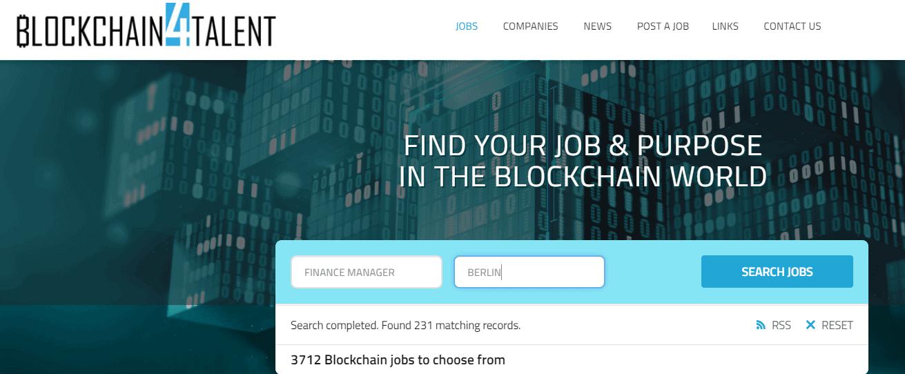 Find Your Blockchain Job